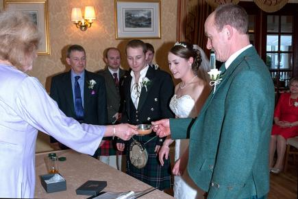 Wedding Toast from the Quaich