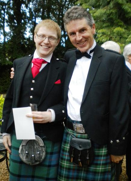 Wedding in kilts
