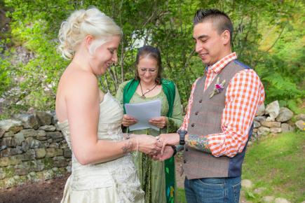 Inverness Wedding Ceremony