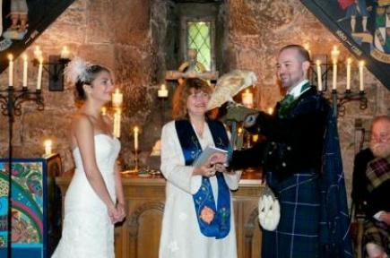 Balgonie Castle wedding