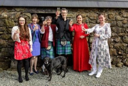 Elopement Marriage Ceremony At Isle Of Skye Croft