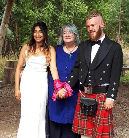 Legal Wedding at Findhorn