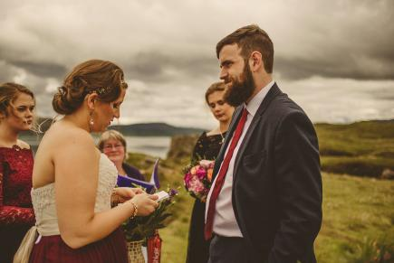 Wedding on Skye